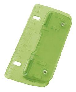 WEDO Taschenlocher Stanzleistung: 3 Blatt ICE grün