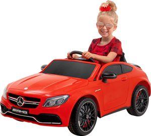 Kinder-Elektroauto Mercedes AMG C63 Lizenziert (Rot)