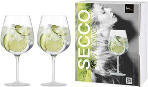 Eisch Secco Flavoured Gin Tonic Gläser im Geschenkkarton Set 2-tlg. / 735 ml