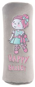 KidsExperts Schlafkissen Ballet Doll ca. 23 x 10 cm rosa, 26178