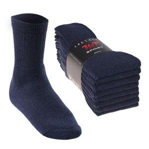 8 Paar MT® Sport- und Freizeitsocken Jeansblau-47-50