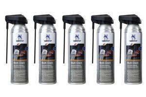 5x Normfest Kraft Multi Rostlöser 'Multi Crack' mit Kälteschock Effekt Spray (Inhalt je 250 ml, 1250 ml insgesamt)