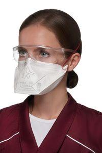 50 x FFP3 medizinische Atemschutzmaske separat hygienisch eingeschweißt