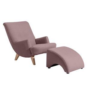 Max Winzer Brandford Sessel - Farbe: aubergine - Maße: 71 cm x 101 cm x 80 cm; 2882-1100-1645262-F01