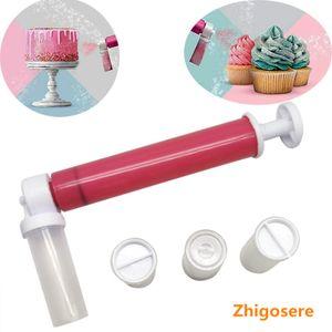Airbrush Mehrzweck Airbrush System  Schnurlose Mini-Airbrush für mehrere Zwecke Manuelle Kuchensprühpistole