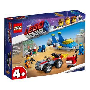 The LEGO Movie™ 2 Emmets und Bennys Bau- und Reparaturwerkstatt!, 70821