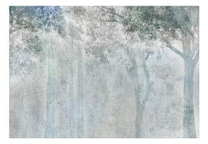 Vlies Tapete  Top  Fototapete  Wandbilder XXL  400x280 cm - BETON OPTIK BÄUME b-A-0744-a-a