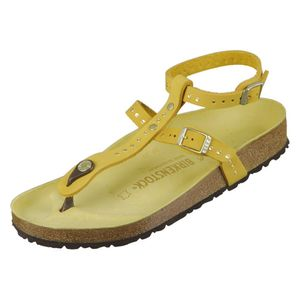 Birkenstock Sandale Marillia ochre rivets 1015972, Größe + Weite:40 normal, Farben:ochre rivets