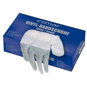 Comair Vinyl Handschuhe klein gepudert 100er Box