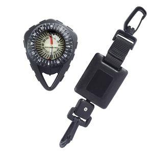Scubapro FS-2 - Kompass Clip-Konsole inkl. Retractor