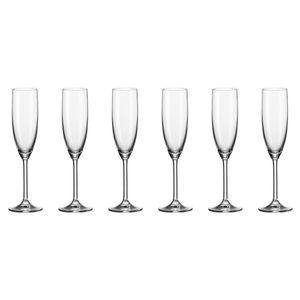 Leonardo Daily Sektglas 6er Set Champagnerglas Proseccoglas Glas 210 ml 35243