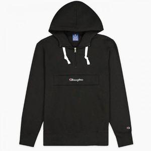 Champion Hoodie Half Zip Hooded Sweatshirt