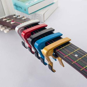 Kapodaster für Konzert, Akustik, Elektro Gitarren - Gitarre Capodaster Kapo Capo Silber