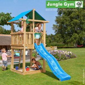 Spielturm Jungle Hut mit Rutsche