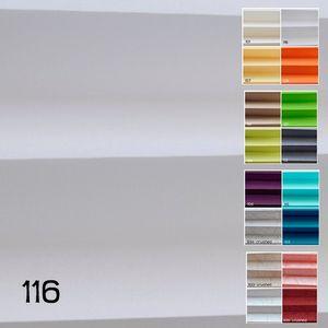 Plissee Fenster Tür  ohne Bohren BxL: 80 x 240 cm  Klemmfix Rollos Weiß