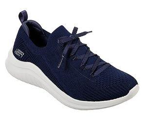 Skechers Slip-On-Sneaker ULTRA FLEX 2.0 Blau Damen