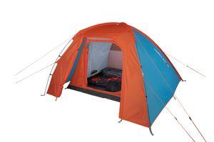 High Peak Kuppelzelt Rapido 3, Schnellaufbau Campingzelt für 3 Personen, Festivalzelt mit extra hohem Eingang, Trekkingzelt mit kleinem Packmass, doppelwandig, 3000 mm wasserdicht