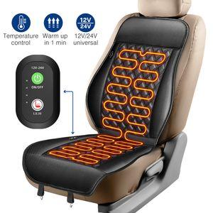 Auto Sitzauflage Sitzheizung Heizkissen Heizmatte Universal 12V PKW 2 Heizstufe