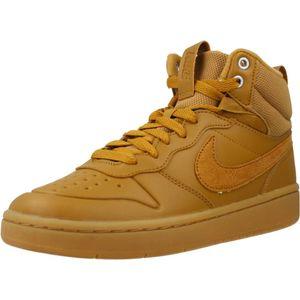 Nike Court Borough Mid 2 Boot (Gs) Wheat/Wheat-Gum Med Brown Wheat/Wheat-Gum Med Brown 35.5