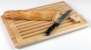 APS Brotschneidebrett - Holz  /// 47,5 x 32 cm, h= 2 cm  /// herausnehmbares Krümelfach  /// auf 4 Antirutschfüssen stehend /// 955