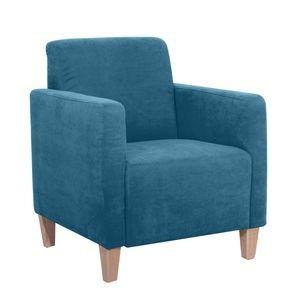 Max Winzer Milla Sessel - Farbe: petrol - Maße: 71 cm x 70 cm x 81 cm; 2903-1100-2051717-F01