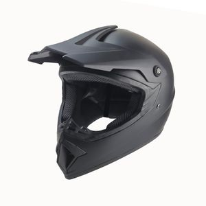 Future Crosshelm für Kinder matt schwarz Motocrosshelm Helm Kinderhelm Endurohelm M