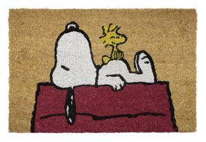 Grupo Erik fußmatte Snoopy 40 x 60 cm PVCKokosfaser braun