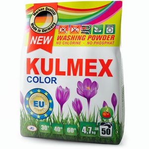 KULMEX® - Color Waschmittel Pulver, 2-er Pack (1 x 100 Waschladungen)