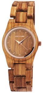 Excellanc Uhr Holz Armbanduhr braun 1800193-002 Damenuhr