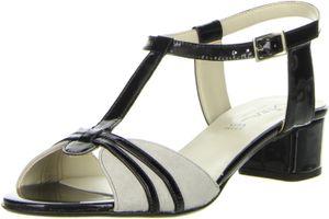 Vista Damen Sandaletten schwarz, Größe:41, Farbe:Schwarz