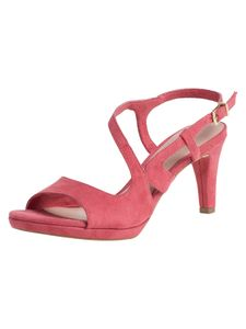 Tamaris Damen Sandalette rot 1-1-28376-24 schmal Größe: 37 EU