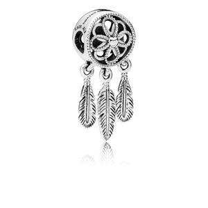 Pandora 797200 Charm-Anhänger Spiritual Dreamcatcher Silber
