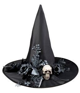 Boland hexenhut Skulla Polyester schwarz Einheitsgrösse