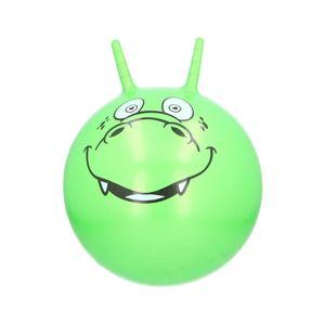 Kinder Hüpfball mit Griffe Sprungball Hopser Ball Gymnastikball Tiermotiv Krokodil Tragkraft max. 50 kg