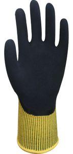 Wonder Grip WG-310HY Comfort - Arbeitshandschuh mit doppelter Latexbeschichtung, Handschuh, Latex, Grip, Anti-Rutsch Schutzhandschuh Größe:S/7