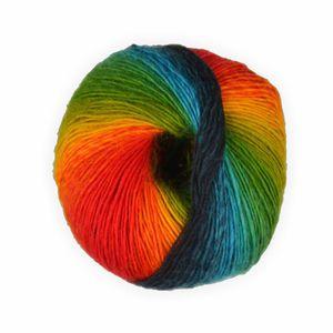 LaLuna - Sockenwolle mixed colors Regenbogen -1- 50g - 200 Meter