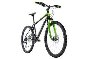 Mountainbike Hardtail 26'' Xtinct schwarz-grün RH 50 cm KS Cycling