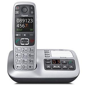 Gigaset E560A int. platin - Telefon - Anrufbeantworter Gigaset