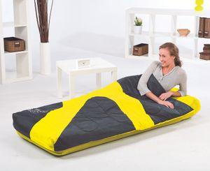 """Bestway Luftbett """"Aslepa"""" Single-Size 185 x 76 x 28 cm mit Schlafsack, farblich sortiert, 67434"""