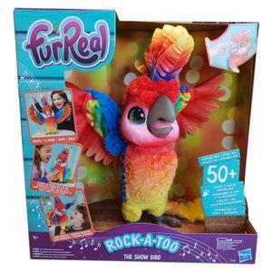 Hasbro E0388 FurReal Friends Pauli Rock-a-Too Mein singender Papagei Haustier