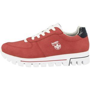 Rieker Damen Sneaker Rot , Schuhgröße:EUR 42
