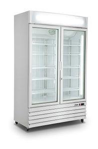 Kühlschrank mit Glastür, 2-türig Modell G 885