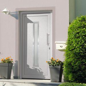 CLORIS Zimmertür Haustür - Weiß 98x190 cm #DE692877