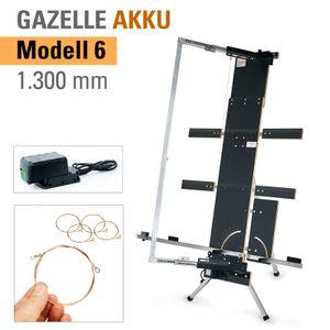 """Der TECHWORK Styroporschneider """"Akku-Gazelle"""" Modell 6 - Heißdrahtschneider zum Schneiden von Dämmplatten und Isolierplatten"""