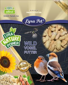 20 kg Lyra Pet® Erdnusskerne in Schoten HK Südamerika