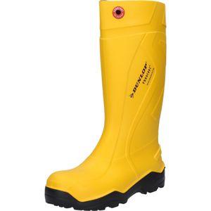 Dunlop Stiefel Purofort+ gelb S5 Gr. 49/50