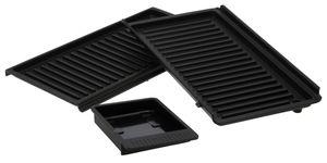 DeLonghi 5523110001 DLSK153 Set Grillplatten für SW12 SW13 MultiGrill Easy