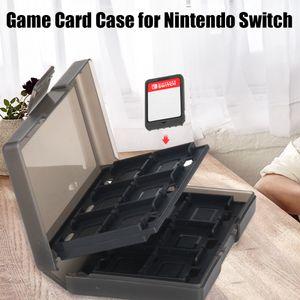 Game Card Case fuer Nintendo Switch Halten Sie 24 Game Cards und 6 Controller Stick Heads