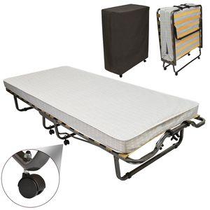 Veraflex Gästebett / Klappbett inkl. Matratze und Schutzhülle, Größe:200x90x40 cm
