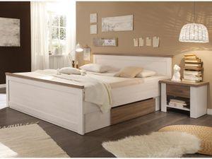 """Bett Doppelbett Bettrahmen Ehebett Bettgestell Einzelbett Bettanlage """"Lebbie I"""""""